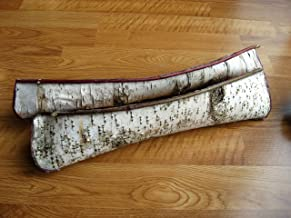 mini birch bark canoe