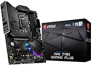 MSI - MPG Z490 Gaming Plus - Placa Base Performance Gaming (10th Gen Intel Core, LGA 1200 Socket, DDR4, CF, Doble Ranura M...