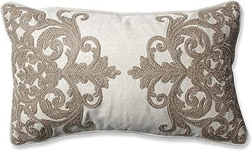 Pillow Perfect 605340 Bristol Birch Rectangular Throw Pillow