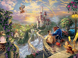 Ceaco Perfect Piece Count Puzzle - Thomas Kinkade Disney Dreams Collection - Beauty and the Beast
