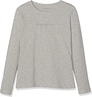 Pepe Jeans Hana Glitter L/S Camiseta para Niñas
