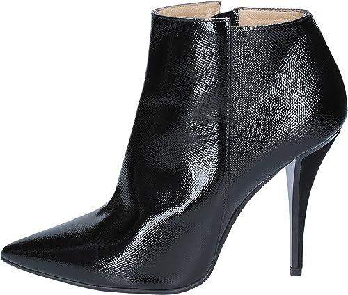 GIANNI MARRA Bottines Bottines Femme Cuir Verni Noir  tout en haute qualité et prix bas