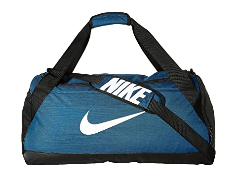 Blanco Nike Negro Blue Force Duffel Bag Brasilia Medium F0rFw