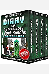 Diary Book Minecraft Series - Skeleton Steve & the Noob Mobs Collection 1: Unofficial Minecraft Books for Kids, Teens, & Nerds - Adventure Fan Fiction ... Noob Mobs Series Diaries - Bundle Box Sets) Kindle Edition