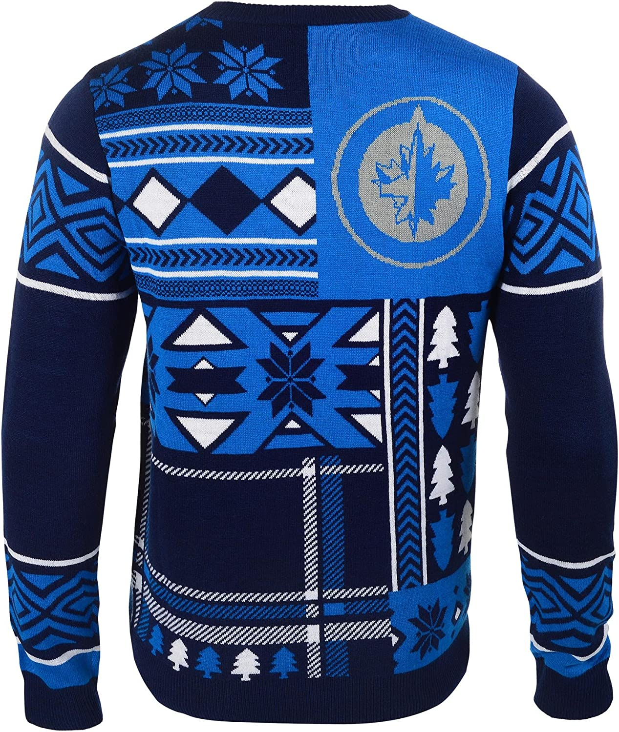 FOCO Patches Ugly Crew Neck Sweater