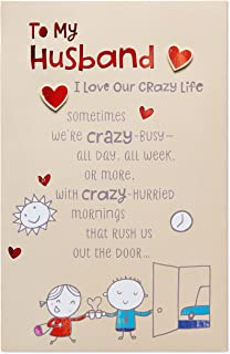 American Greetings Pop Up Birthday Card for Husband (Crazy Life)