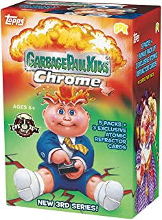 2020 Topps Garbage Pail Kids Chrome BLASTER box (20 cards PLUS 3 refractor cards/bx)