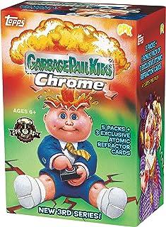 2020 Topps Garbage Pail Kids Chrome BLASTER box (20 cards PLUS 3 refractor cards/bx)