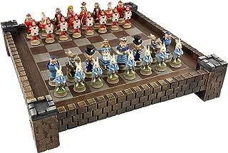 HPL Alice in Wonderland Fantasy Chess Set with 17 1/2