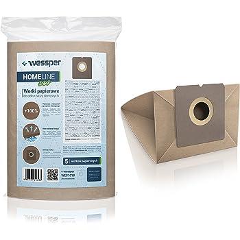 Wessper Bolsas de aspiradora para Solac Atomic Ant (5 Piezas, Papel): Amazon.es: Hogar
