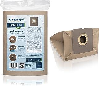 Wessper Bolsas de aspiradora para Fagor VCE 302 (5 Piezas, Papel)