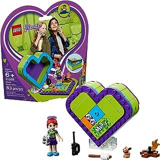 LEGO Friends Mia's Heart Box 41358 Building Kit , New 2019 (83 Piece)
