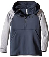 Under Armour Kids - Storm Armour Fleece 1/2 Zip Print Hoodie (Big Kids)