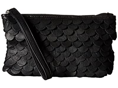 Day & Mood Jamie Clutch (Black) Clutch Handbags