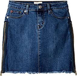 Zipper Mini Skirt (Big Kids)