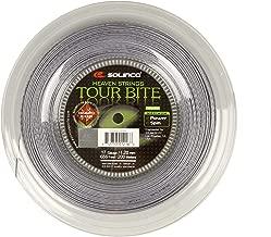 Solinco Tour Bite Diamond Rough Tennis String Reel Silver ()
