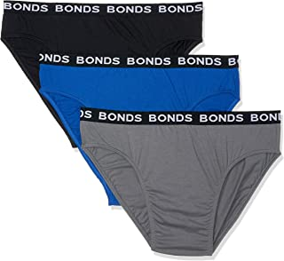 Bonds Men's Underwear Plus Size Hipster Brief (3 pack)
