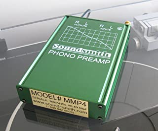 Soundsmith MMP4 MM Moving Magnet Hi-grade Phono Preamp- External Power Supply