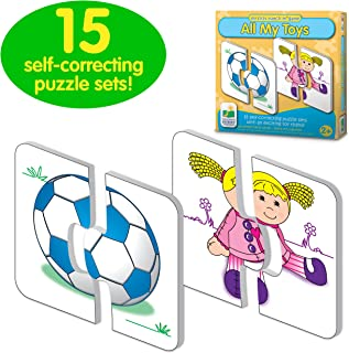 The Learning Journey: My First Match It - All My Toys - Self-Correcting Matching Puzzles for Toddlers and Preschoolers