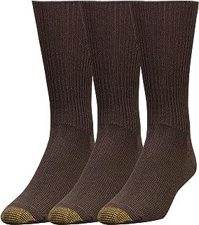 Gold Toe Men's Mid Calf Fluffies Socks (Pack of 3)