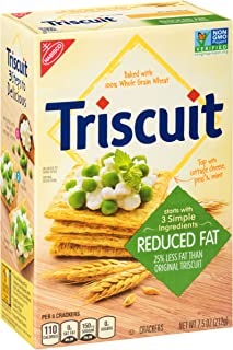 Triscuit Reduced Fat Crackers, 7.5 oz