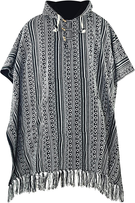 Credence virblatt - Mexican Poncho Men Cotton Max 63% OFF Blanket R 100%
