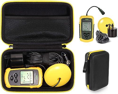 popular Getgear Case for LUCKY Handheld Fish Finder, Hayak Fish Finder, popular Sonar Sensor, online Venterior, mesh accessories pocket sale