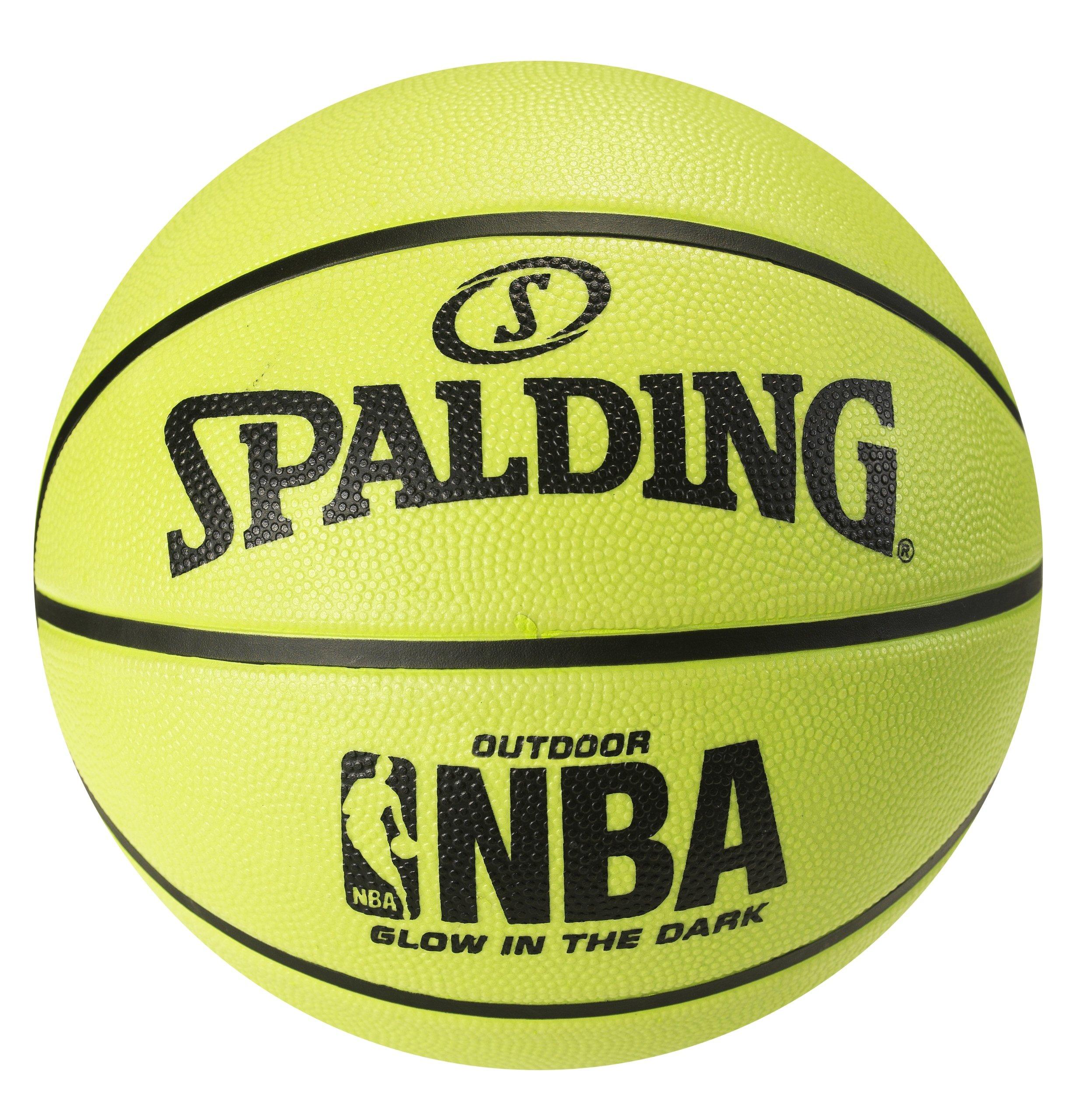 Spalding NBA – Balón de Baloncesto de Brilla en la Oscuridad ...