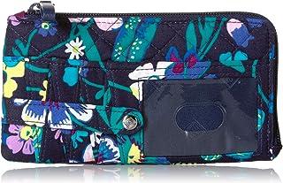 Vera Bradley womens Iconic Rfid Ultimate Card Case, Signature Cotton