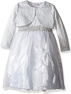 Baby Girls' Lace Ballerina Dress W/Cardigan