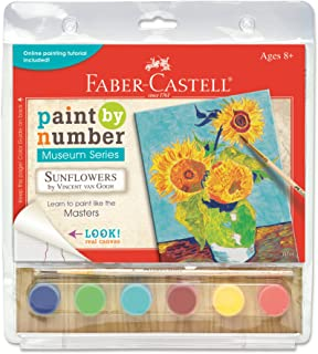 Faber-Castell PL14314 Paint by Number Museum Series Sunflower
