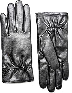 LANTINA Soft Leather Gloves Lady Warm Autumn Winter Mitten Riding Gloves