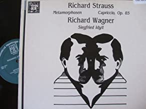 R. Strauss: Metamorphosen; Capriccio, Op. 85; Wagner: Siegfried Idyll/A. Jordan, Lausanne Ch. Orch.