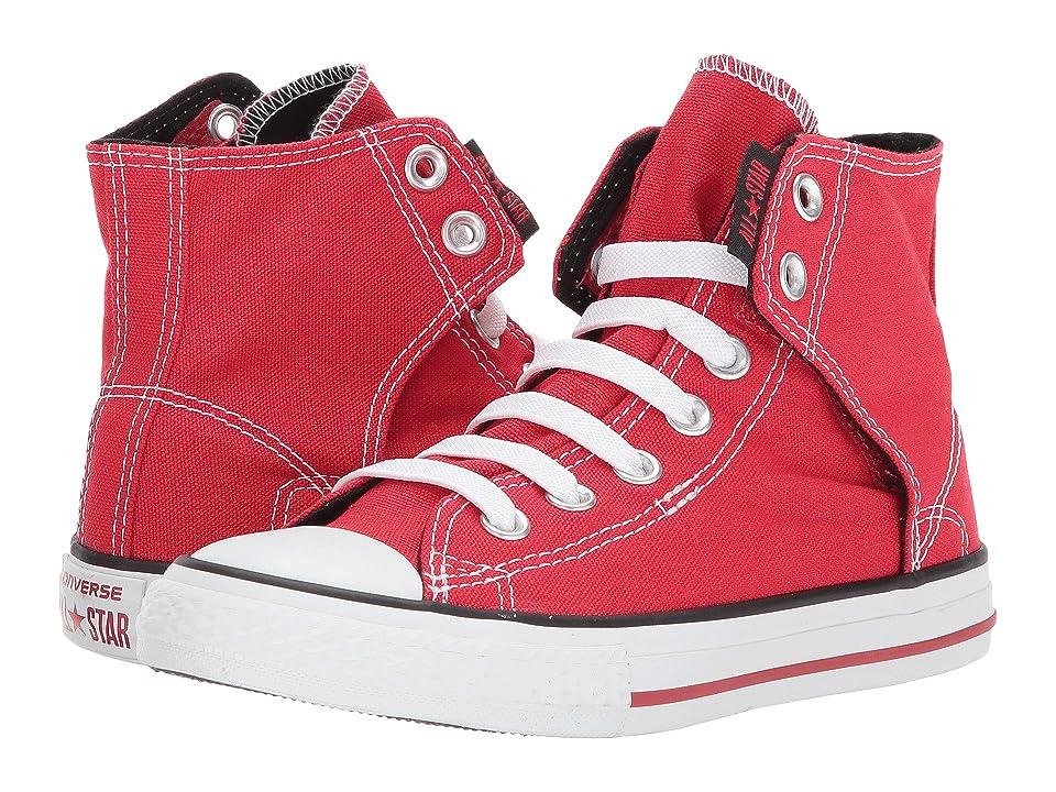 Converse Kids Chuck Taylor(r) All Star(r) Easy Slip (Little Kid/Big Kid) (Red) Boys Shoes