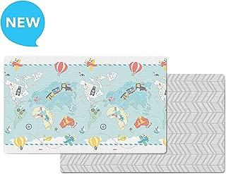 Skip Hop Little Travelers/Herringbone Doubleplay Reversible Playmat