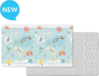Skip Hop Little Travelers/Herringbone Doubleplay Reversible Playmat