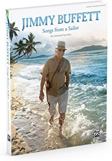 Jimmy Buffett -- Songs from a Sailor: 146 Selected Favorites (Guitar Songbook Edition), Hardcover Book
