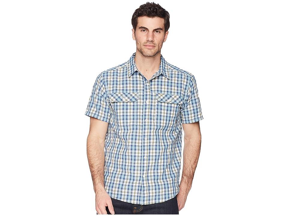 Mountain Hardwear Canyon AC Short Sleeve Shirt (Blue Granite) Men