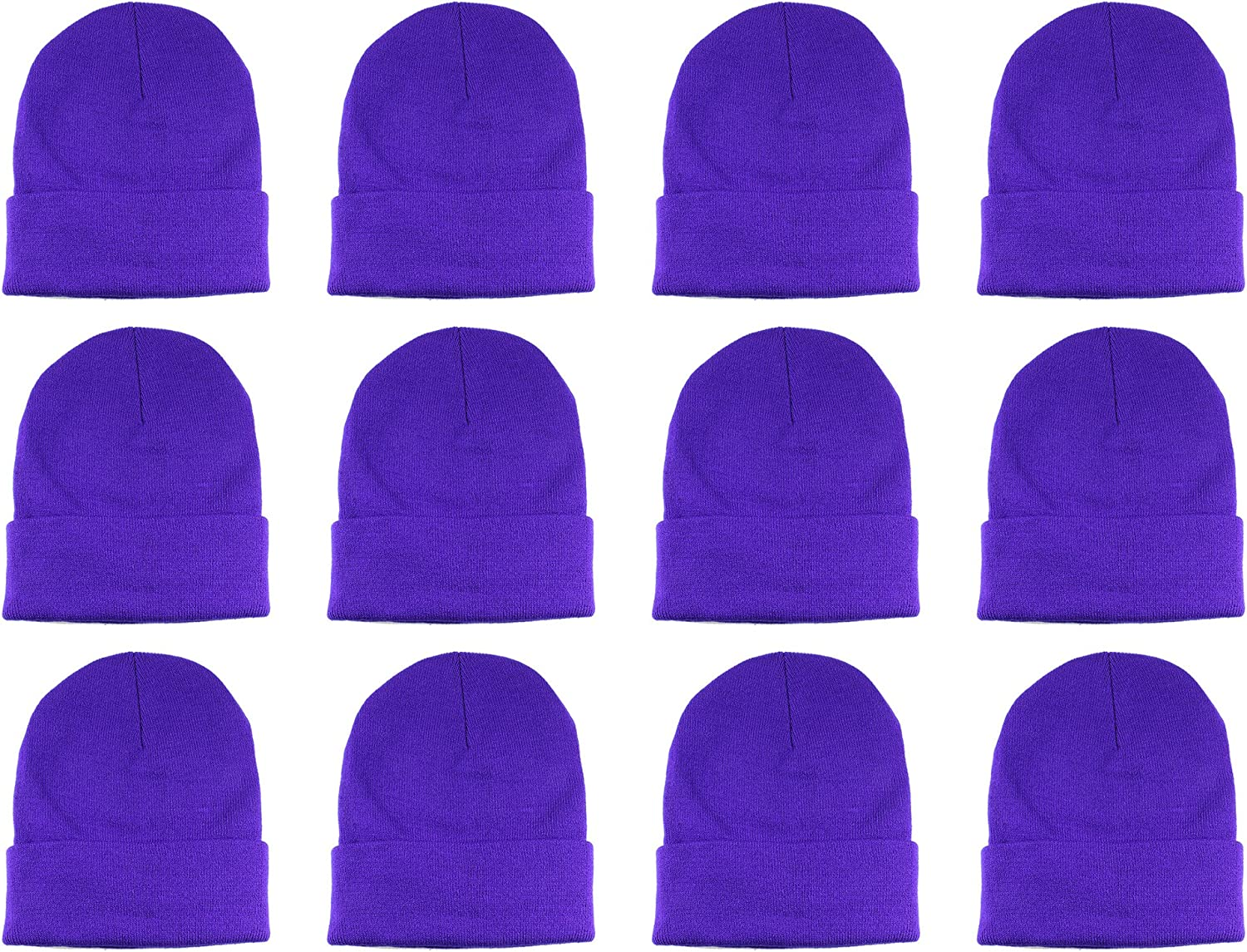 Directly managed store Gelante Unisex Beanie Cap Knitted Mail order Solid and Warm Multi-Col Color