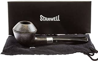 Stanwell Army Mount Black 406 Tobacco Pipe - Smooth