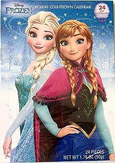 Disney Frozen ANNA & ELSA Countdown 24 Chocolates Advent December Christmas Calendar