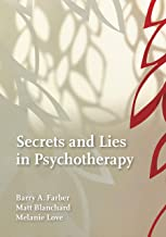 Secrets and Lies in Psychotherapy
