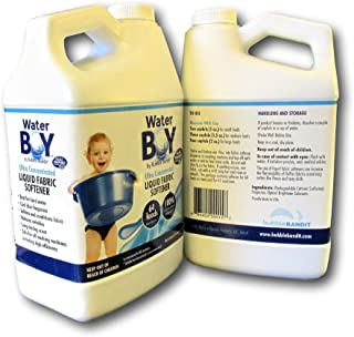 Water Boy Liquid Fabric Softener - Concentrated for Hard Water- 2 Pack (1 gallon