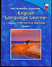 Holt McDougal Literature: English Language Learner Adapted Interactive Reader Grade 6