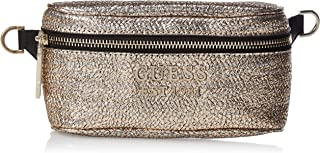GUESS Women's Delon Belt Bag, Gold - MC759181