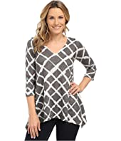 Nally & Millie - Grid Print Tunic