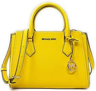 Michael Kors Hope Medium Messenger Crossbody Bag (Citrus)