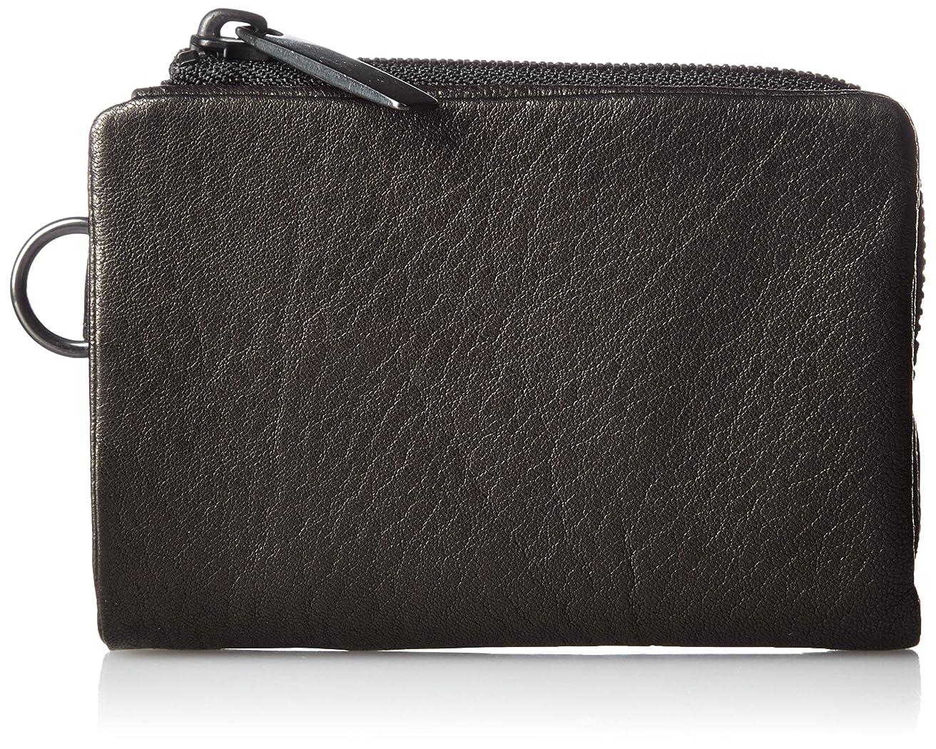 シガレット測定契約[パトリックステファン] 財布 二つ折り財布 ミニマル 羊革