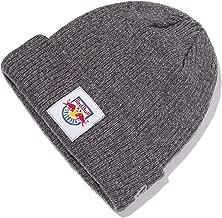 Red Bull Salzburg New Era Badge Gorra, Gris Unisexo Talla única Beanie, FC Salzburg Original Ropa & Accesorios