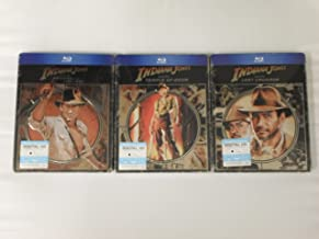Indiana Jones: SteelBook Trilogy (Raiders of the Lost Ark / Temple of Doom / Last Crusade)